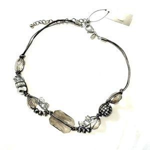Chico's | Glass Gemstone Necklace